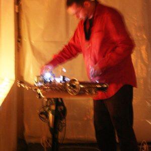 Foto: unbekannt | Theaternacht, Flying Circes, Feuerhaut
